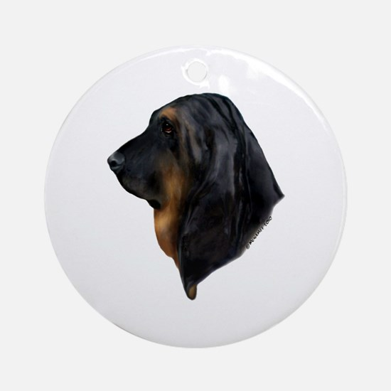 Bloodhound Ornament (Round)