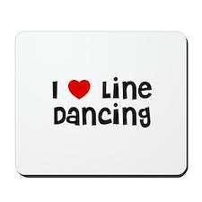I * Line Dancing Mousepad