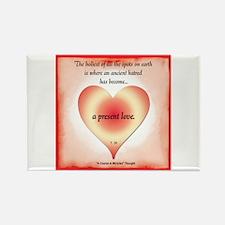 ACIM-Present Love Rectangle Magnet