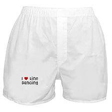 I * Line Dancing Boxer Shorts