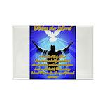 Jesus Baptism Rectangle Magnet (100 pack)
