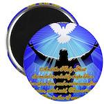 """Jesus Baptism 2.25"""" Magnet (10 pack)"""