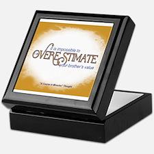 ACIM-Your brother's value Keepsake Box