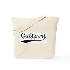 Vintage Gulfport Tote Bag