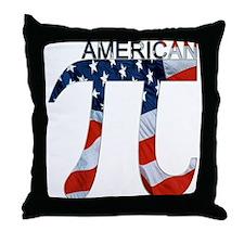 American Pi Throw Pillow