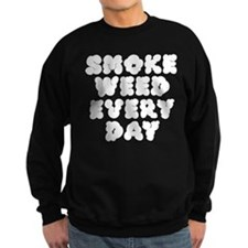 Smoke Weed Everyday - Cloudy Sweatshirt