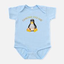 Chick Dig Me Infant Bodysuit