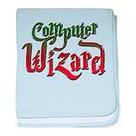 Computer Wizard baby blanket