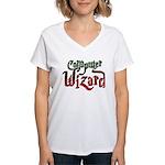 Computer Wizard Women's V-Neck T-Shirt