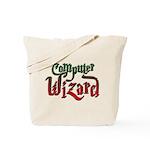 Computer Wizard Tote Bag