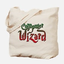 Computer Wizard Tote Bag