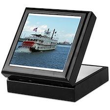 Mississippi Riverboat Keepsake Box