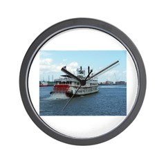 Mississippi Riverboat Wall Clock