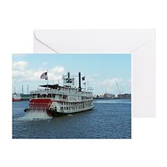 Mississippi Riverboat Greeting Card