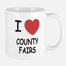 i heart county fairs Mug
