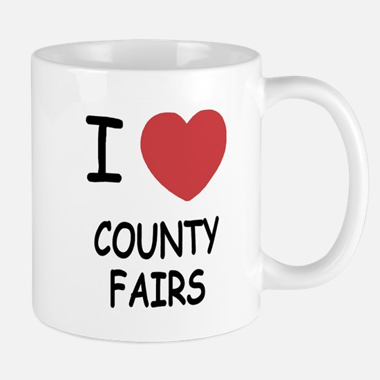 i heart county fairs Mug