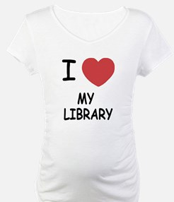 i heart my library Shirt