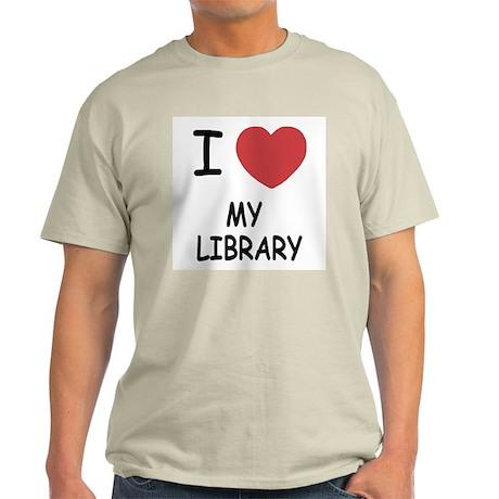 i heart my library Light T-Shirt