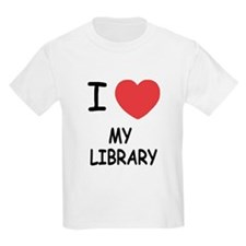 i heart my library T-Shirt