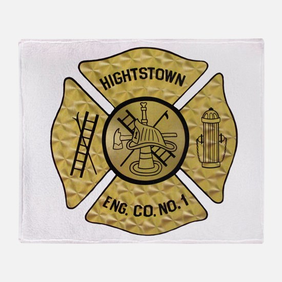 Cute Fire dept Throw Blanket