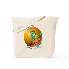 Born to Ride Lizard Tote Bag