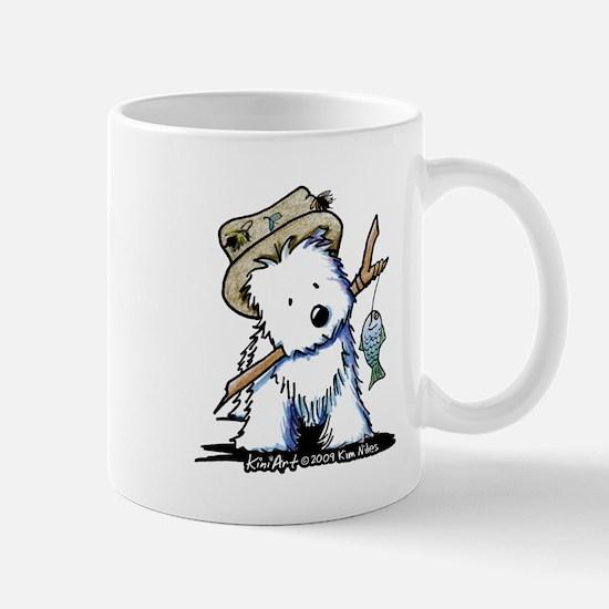 Fishing Westie Mug