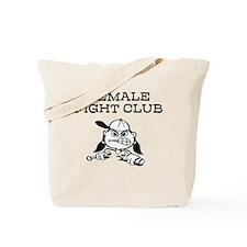Female Fight Club Tote Bag