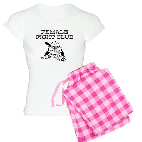 Female Fight Club Women's Light Pajamas