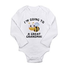 Going To Bee A Great Grandma Long Sleeve Infant Bo