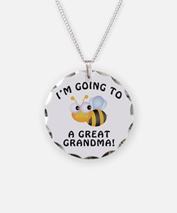 Going To Bee A Great Grandma Necklace