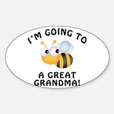 Going To Bee A Great Grandma Decal