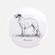 """Borzoi 3.5"""" Button"""