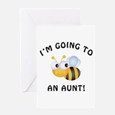 Going To Bee An Aunt Greeting Card