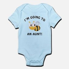 Going To Bee An Aunt Infant Bodysuit