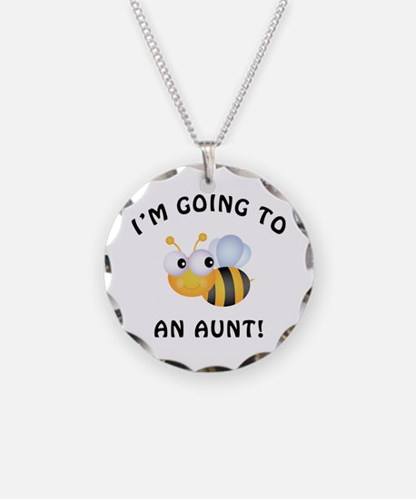 Going To Bee An Aunt Necklace