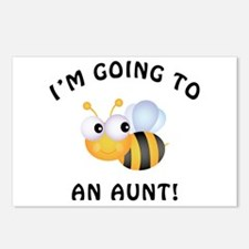 Going To Bee An Aunt Postcards (Package of 8)
