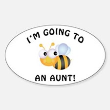 Going To Bee An Aunt Decal