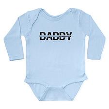 Daddy Established 2012 Long Sleeve Infant Bodysuit