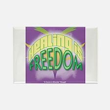 ACIM-Healing is Freedom Rectangle Magnet