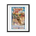 Chain Off 2011 Framed Panel Print