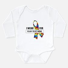 Ribbon for... Personalizable! L/S Infant Bodysuit