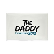 The Daddy Est 2011 Rectangle Magnet