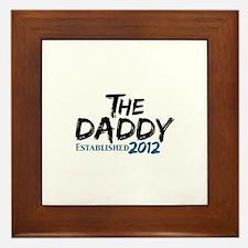 The Daddy Est 2011 Framed Tile