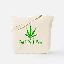 Puff Puff Pass - Leafy Tote Bag