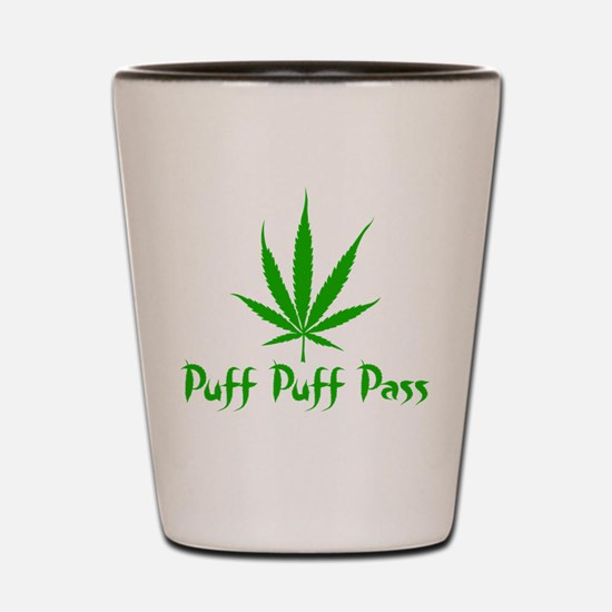 Puff Puff Pass - Leafy Shot Glass