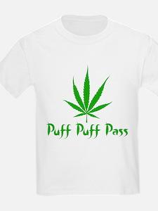 Puff Puff Pass - Leafy T-Shirt