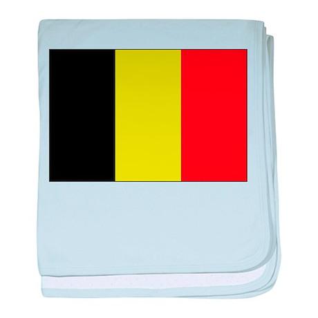 Flag of Belgium 1 baby blanket