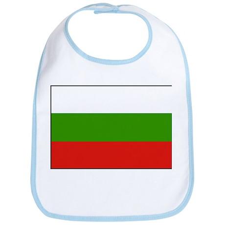Bulgarian Flag 1 Bib