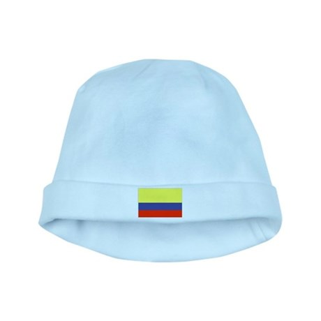 Colombian Flag 1 baby hat