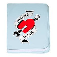 FOREVER IN LOVE baby blanket